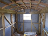 hut inside