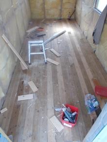 hut floor